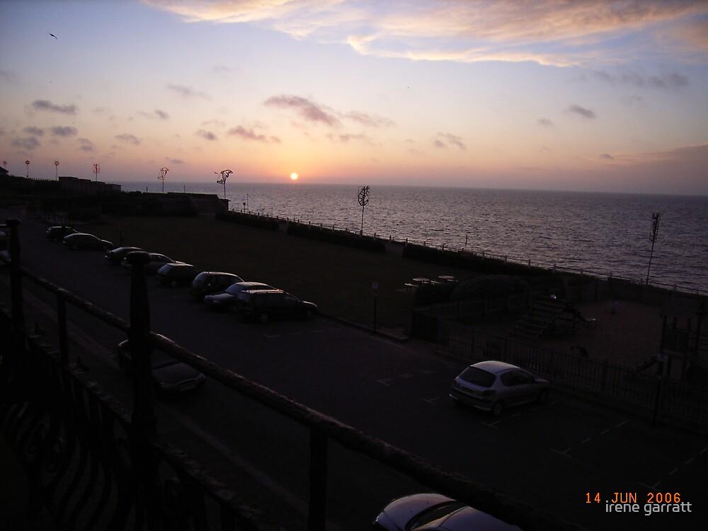 Sunset in Norfolk by irene garratt