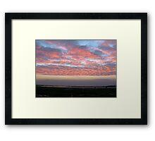 Sunrise (1) 27-10-07 Framed Print
