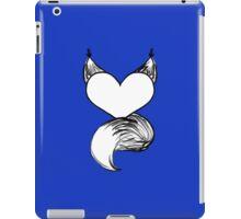 Furry at Heart (Dark Blue) iPad Case/Skin