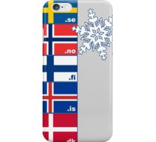 Nordic Cross Flags iPhone Case/Skin