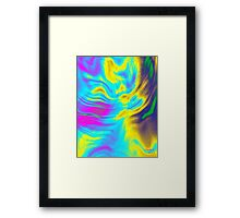 Peaceful   energy Framed Print