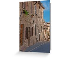 Quiet Incline Greeting Card