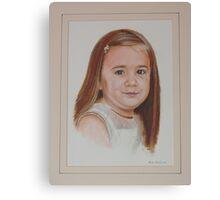 Little charmer. Canvas Print