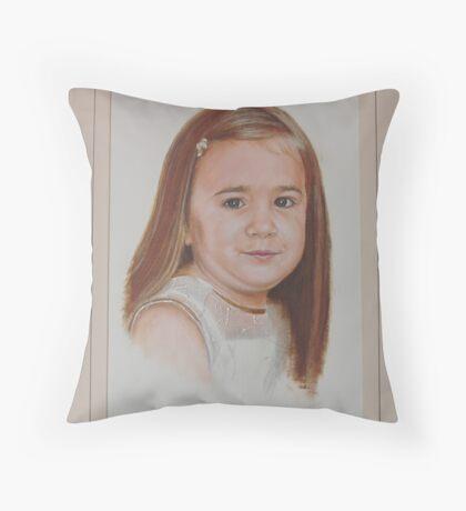 Little charmer. Throw Pillow
