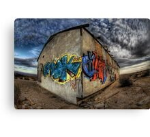 Desert Graffiti Canvas Print