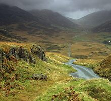 Hard Knott Pass by Wickerman