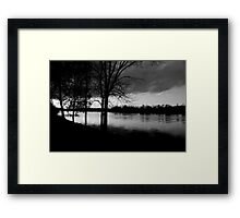 Cold Reality Framed Print