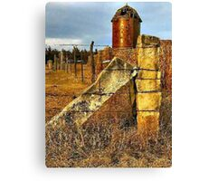 Russell County Icons Canvas Print