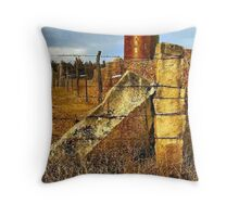 Russell County Icons Throw Pillow