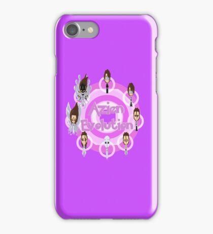 Azien's Evolution Chain iPhone Case/Skin