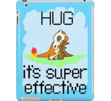 Hug is Super Effective iPad Case/Skin