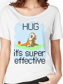 Hug is Super Effective Women's Relaxed Fit T-Shirt