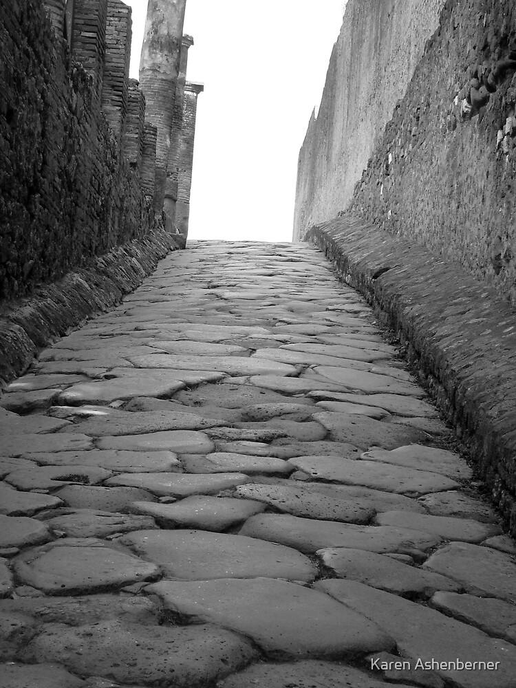 The Road to Pompeii by Karen Ashenberner