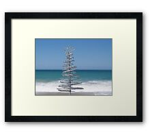 Silver Tree Framed Print