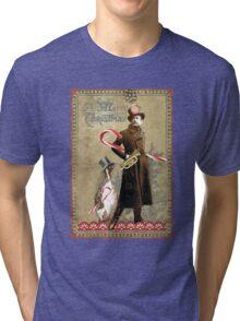 Penguin Follies Tri-blend T-Shirt