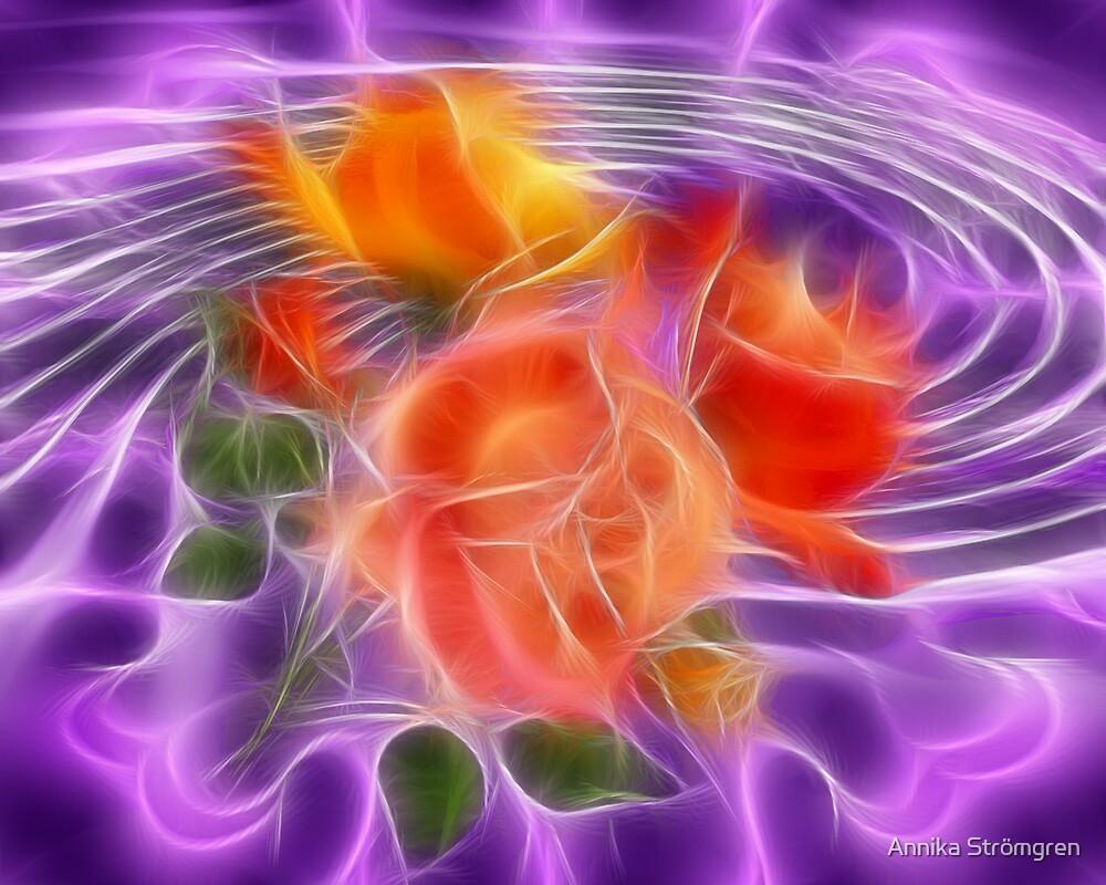 Fractal roses by Annika Strömgren