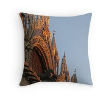 St Marks Square Venice Throw Pillow