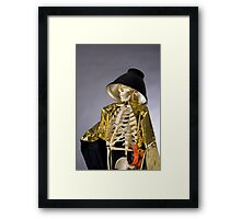 Skeleton Series: Queen Of The Photog Framed Print