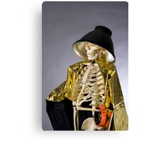 Skeleton Series: Queen Of The Photog Canvas Print