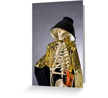 Skeleton Series: Queen Of The Photog Greeting Card