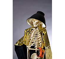 Skeleton Series: Queen Of The Photog Photographic Print