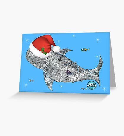 It'll be a Whale of a Christmas! Greeting Card