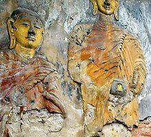 Buddha Mural by Dave Lloyd