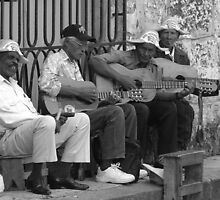 Cuban men by Steven McEwan