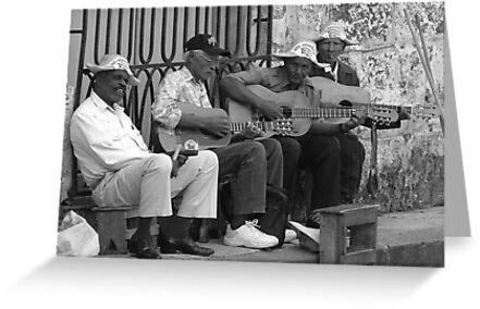 Cuban men by Steven McEwan