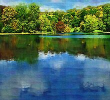 Stourhead Lake re-worked by PhotogeniquE IPA