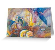 """Time 13, """"Essence of Life"""" Greeting Card"""