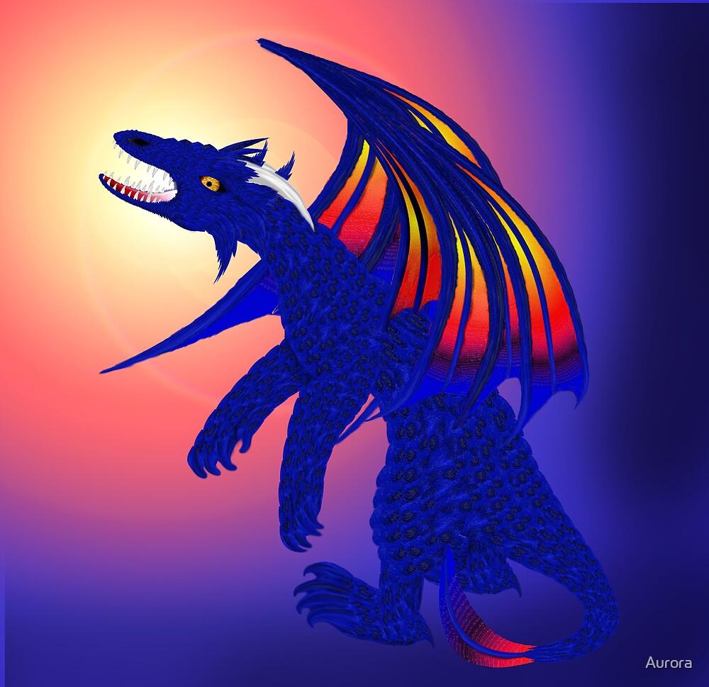 Blue critter by Aurora