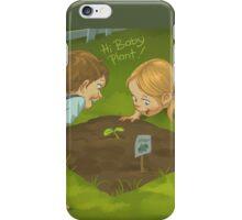 Hello Baby Plant! iPhone Case/Skin