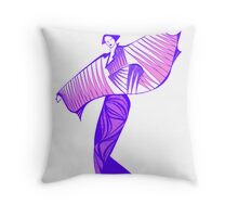 Asia Welcome Throw Pillow