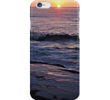 Wedding Anniversary Sunset ~ digital paint effect  iPhone Case/Skin