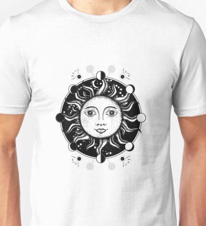 Sacred Geometry sun Unisex T-Shirt