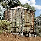 Rustic Water Tank by Randy Gentry
