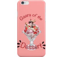 Gaara of the Dessert iPhone Case/Skin