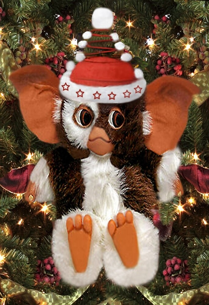 "GIZMO READY FOR CHRISTMAS PICTURE AND OR CARD"" by ?? Bonita ..."