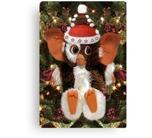 GIZMO READY FOR CHRISTMAS PICTURE AND OR CARD Canvas Print