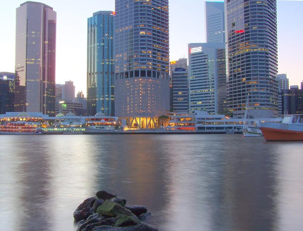 Brissy River HDR by aperture