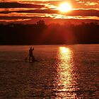 Peaceful Paddle by Georgie Hart