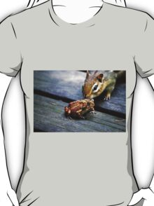 the chipmunk & the toad T-Shirt