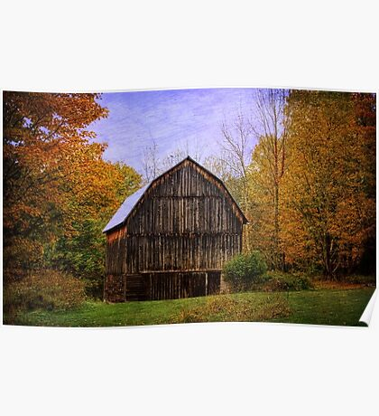 The Simplicity of a Barn Poster