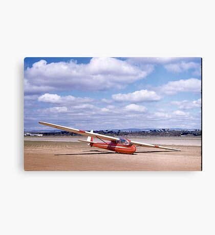 ES49, 2 seater Sailplane. Gawler, South Australia, 1960. Canvas Print