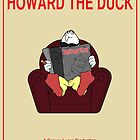 Howard the Duck Movie Poster by FinlayMcNevin