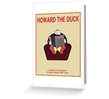 Howard the Duck Movie Poster Greeting Card