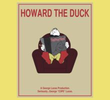 Howard the Duck Movie Poster Baby Tee