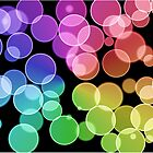 Rainbow Bubbles by Crystal Potter