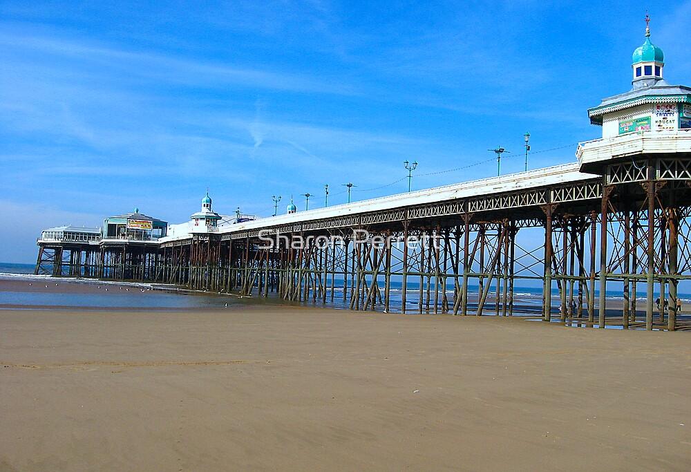 Blackpool Pier by Sharon Perrett